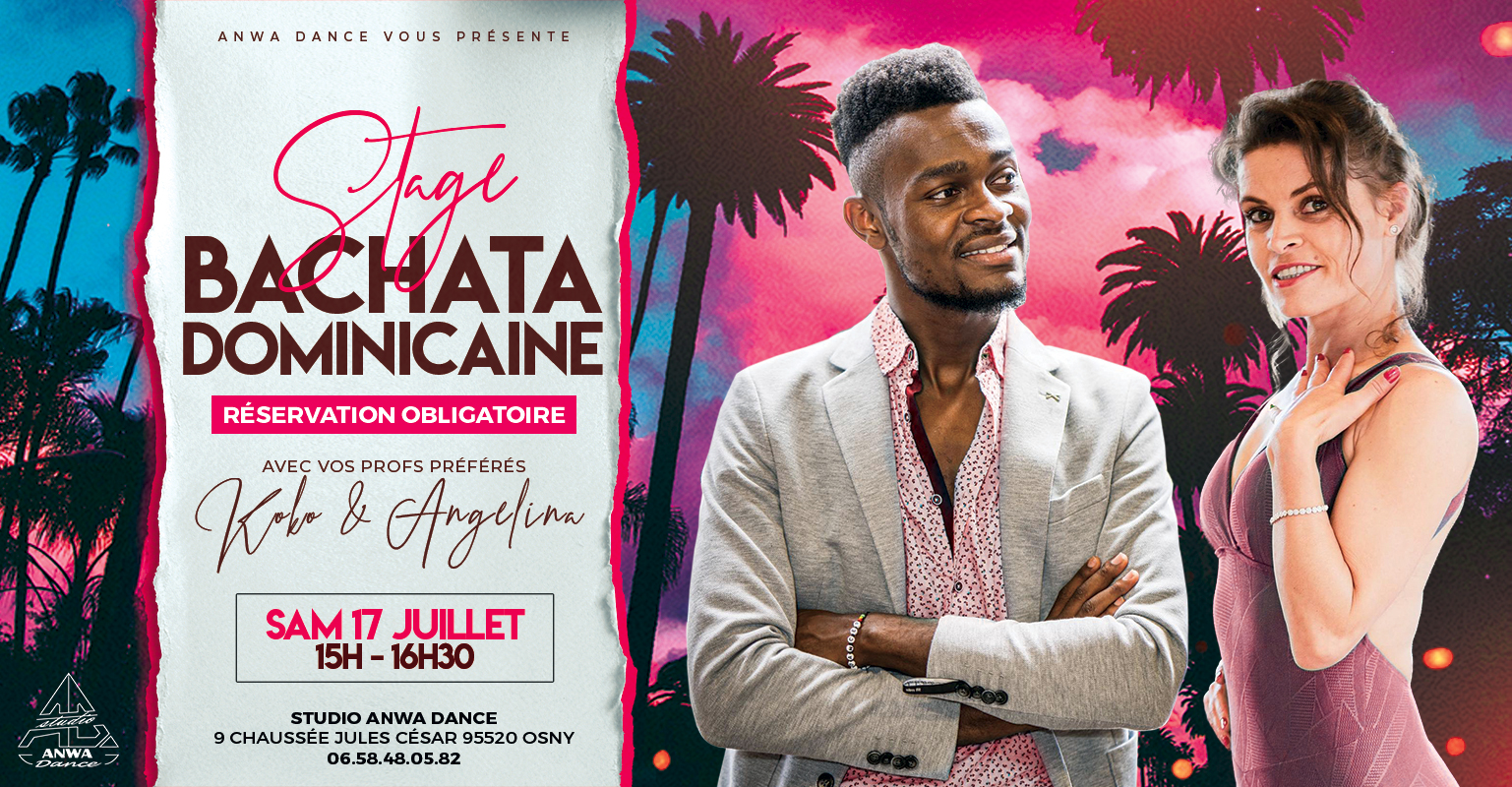 Stage bachata dominicaine